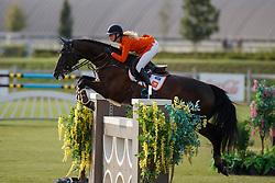 Hoogenraat Kim, NED, Caesar<br /> Juniors European Championships Jumping <br /> Samorin 2017© Hippo Foto - Dirk Caremans<br /> 11/08/2017