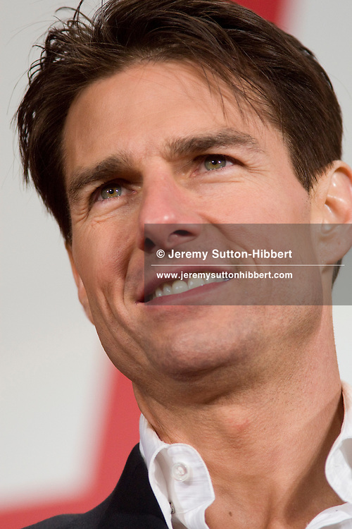 Tom Cruise at the Japan premiere of movie 'Valkyrie', in Tokyo, Japan, Wednesday 11th March 2009.