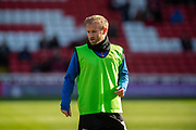 Sheffield Wednesday vice captain Barry Bannan (10) warming up before the EFL Sky Bet Championship match between Barnsley and Sheffield Wednesday at Oakwell, Barnsley, England on 8 February 2020.
