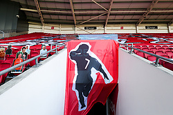 Scotty Murray Banner - Rogan/JMP - 28/08/2020 - Ashton Gate Stadium - Bristol, England - Bristol City v Sheffield Wednesday - Sky Bet Championship.