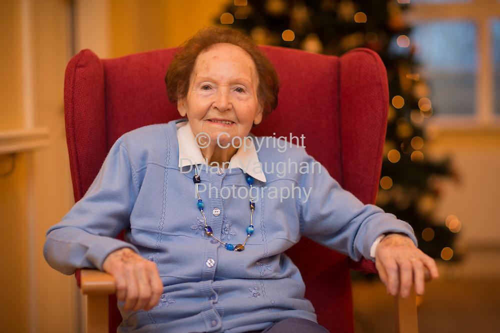 18-12-14<br /> <br /> Kathleen Delaney pictured at Drakelands Nursing Home in Kilkenny.<br /> <br /> <br /> Picture Dylan Vaughan.