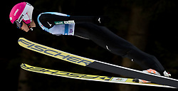 February 7, 2019 - Ljubno, Savinjska, Slovenia - Yuka Seto of Japan competes on qualification day of the FIS Ski Jumping World Cup Ladies Ljubno on February 7, 2019 in Ljubno, Slovenia. (Credit Image: © Rok Rakun/Pacific Press via ZUMA Wire)