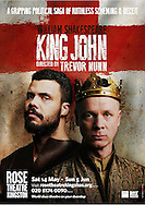 King John at the Rose Theatre. Director Trevor Nunn