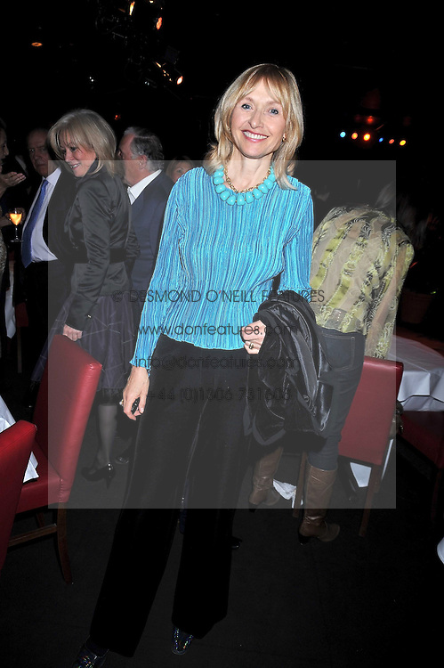 """LIZZIE HUMPHRIES at a party to promote the """"American Songbook in London"""" aseries of intimate concerts featuring 1959 Broadway songs, held at Pizza on The Park, Hyde Park Corner, London on 18th March 2009."""