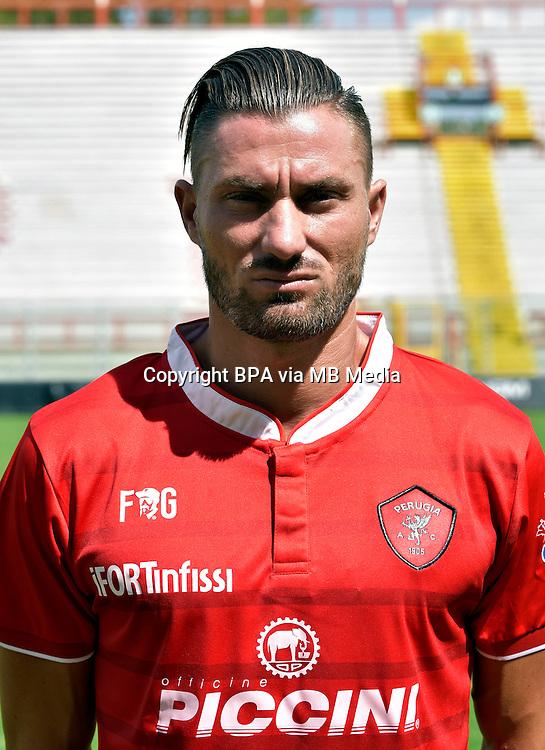 Italian League Serie B_2015-2016 / <br /> ( AC Perugia 1905 ) - <br /> Lorenzo Del Prete
