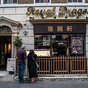 Royal Dragon in London Chinatown Sweet Tooth Cafe and Restaurant at Newport Court and Garret Street on 15 June 2019, UK.