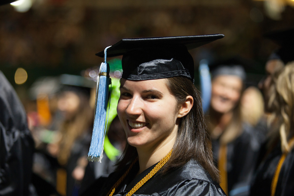 Mary Holben, Undergraduate Commencement ©Ohio University/ Photo by Kaitlin Owens