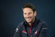 October 18-21, 2018: United States Grand Prix. Romain Grosjean (FRA), Haas F1 Team, VF-18