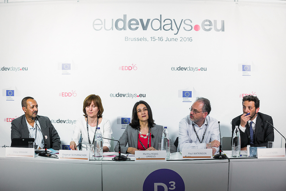 20160615 - Brussels , Belgium - 2016 June 15th - European Development Days - Gender , climate change and integrated risk reduction © European Union