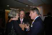 Kate Adie, General Andrew Cummings and General Arthur Denaro, Launch of Martin Bell's ' The Truth That Sticks: New Labour's Breach Of Trust.' Foyles. London. 5 September 2007.  -DO NOT ARCHIVE-© Copyright Photograph by Dafydd Jones. 248 Clapham Rd. London SW9 0PZ. Tel 0207 820 0771. www.dafjones.com.