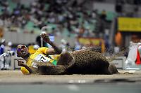 Friidrett<br /> VM 2007 Osaka<br /> Foto: DPPI/Digitalsport<br /> NORWAY ONLY<br /> <br /> ATHLETICS - 11TH IAAF WORLD CHAMPIONSHIPS - 25/8/2007 > 2/9/2007 - OSAKA (JAP)<br /> <br /> MEN - LONG JUMP - GODFREY KHOTO MOKOENA (RSA)