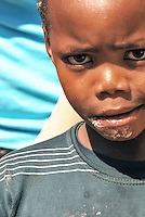 Township Boy in Langa.<br />