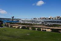 Woolloomooloo wharf, Sydney, Australia.