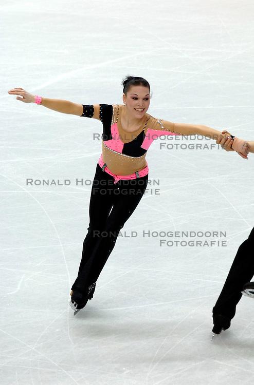 11-02-2006 KUNSTSCHAATSEN: OLYMPISCHE SPELEN: TORINO<br /> Eva Maria Fitze en Rico Rex (DUI) worden 15de<br /> &copy;2006-WWW.FOTOHOOGENDOORN.NL