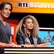 NLD/Hilversum/20120821 - Perspresentatie RTL Nederland 2012 / 2013, Lodeijk Hoekstra en Fajah Lourens