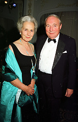 The DUKE & DUCHESS OF RICHMOND & GORDON, at a dinner in London on 17th November 1999.MZE 53