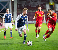 Scotland's Craig Slater during Scotland Under-21 v FYR Macedonia,  UEFA Under 21 championship qualifier  at Tynecastle, Edinburgh. Photo: David Young<br /> <br />  - &copy; David Young - www.davidyoungphoto.co.uk - email: davidyoungphoto@gmail.com