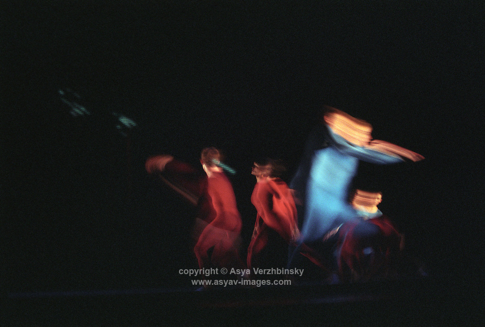 """Trisha Brown Dance Company in """"how long does the subject linger on the edge of the volume..."""