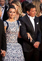 Actress Penelope Cruz and Antonio Banderas at the Dolor Y Gloria (Pain and Glory) gala screening at the 72nd Cannes Film Festival Friday 17th May 2019, Cannes, France. Photo credit: Doreen Kennedy