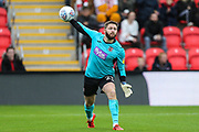 Exeter City goalkeeper Jonathan Maxted(23) during the EFL Sky Bet League 2 match between Exeter City and Forest Green Rovers at St James' Park, Exeter, England on 12 October 2019.