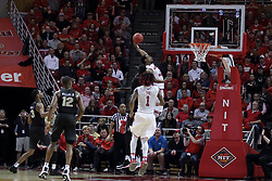 20 March 2017:  MiKyle McIntosh(11) during a College NIT (National Invitational Tournament) 2nd round mens basketball game between the UCF (University of Central Florida) Knights and Illinois State Redbirds in  Redbird Arena, Normal IL