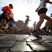 Roma 07/04/2018 <br /> Maratona di Roma 2018 <br /> 24ma edizione<br /> un passaggio sui sampietrini