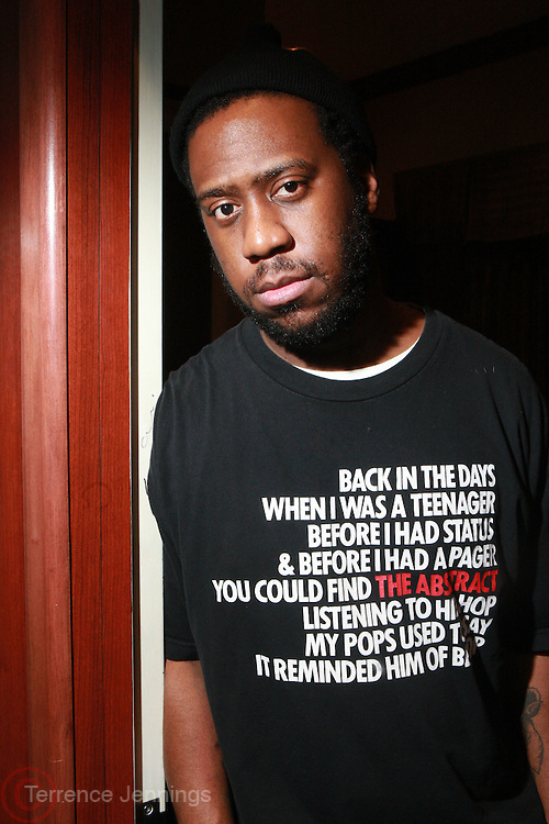24 February 2011- New York, NY- Robert Glasper backstage at the Robert Glasper Experiment Produced in Association with Jill Newman Productions backstage and held at The Blue Note on February 24, 2011 in New York City. Photo Credit: Terrence Jennings/Retna, Ltd..**Exclusive**