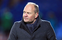 Denmark U21 manager Niels Frederiksen during the international friendly match at the Blue Water Arena, Esbjerg.