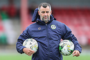 Forest Green Rovers Academy assistant manager Chris Barker during the Pre-Season Friendly match between Cirencester Academy and Forest Green Rovers at Cotswold Academy, Cirencester, United Kingdom on 30 July 2019.