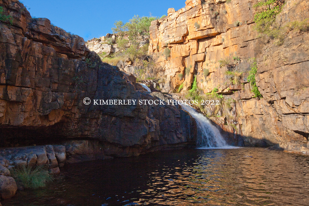 "Ruby Falls in Doubtful Bay, is a popular swimming spot with chrter boat operators on the Kimberley coast.  The falls were named by Skipper Chris ""Trippy"" Tucker, after his daughter."