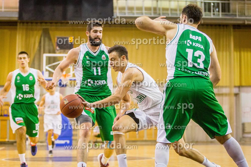 Zan Mark Sisko of KD Ilirija during basketball match between KK Ilirija and KK Krka in Round #5 of Liga Nova KBM 2017/18, on November 4, 2017 in Hala Tivoli, Ljubljana, Slovenia. Photo by Ziga Zupan / Sportida