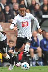 Tom Ince (Paul Ince Son) Derby County, Derby County v Wolverhampton Wanderers, Ipro Stadium, Sky Bet Championship, Sunday 18th October 2015