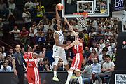 Sutton Dominique<br /> Olimpia EA7 Emporio Armani Milano vs Dolomiti Energia Trentino<br /> Lega Basket Serie A 2016/2017<br /> PlayOff semifinale gara 1<br /> Milano 25/05/2017<br /> Foto Ciamillo-Castoria / I.Mancini