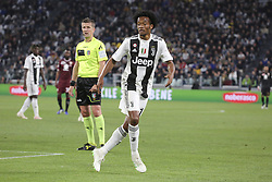 May 3, 2019 - Turin, Piedmont, Italy - Juan Cuadrado (Juventus FC) during the Serie A football match between Juventus FC and Torino FC at Allianz Stadium on May 03, 2019 in Turin, Italy..Final results: 1-1. (Credit Image: © Massimiliano Ferraro/NurPhoto via ZUMA Press)
