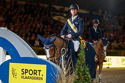 Bruynseels Niels, BEL, Gancia de Muze<br /> Vlaanderens Kerstjumping<br /> Memorial Eric Wauters<br /> Jumping Mechelen 2017<br /> © Dirk Caremans<br /> 29/12/2017