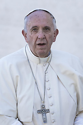 October 16, 2016 - Vatican City, Vatican - Pope Francis presides an Holy Mass for the canonization of seven new Saints in St. Peter's Square in Vatican City, Vatican on October 16, 2016. On the morning of Sunday, October 16, Pope Francis proclaims seven new Saints: Jos Snchez del Ro, Salomone Leclercq, Jos Gabriel del Rosario Brochero (Cura Brochero), Manuel Gonzlez Garca, Father Lodovico Pavoni, Alfonso Maria Fusco, Elizabeth of the Trinity. (Credit Image: © Giuseppe Ciccia/NurPhoto via ZUMA Press)
