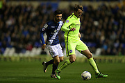 Brighton central midfielder, Dale Stephens (6) during the Sky Bet Championship match between Birmingham City and Brighton and Hove Albion at St Andrews, Birmingham, England on 5 April 2016.