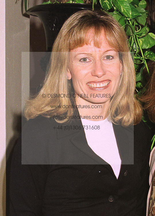 MRS DERMOT SMURFIT a member of the Irish multi-millionaire packaging family, at a fashion show in London on 8th October 1998.MKP 16