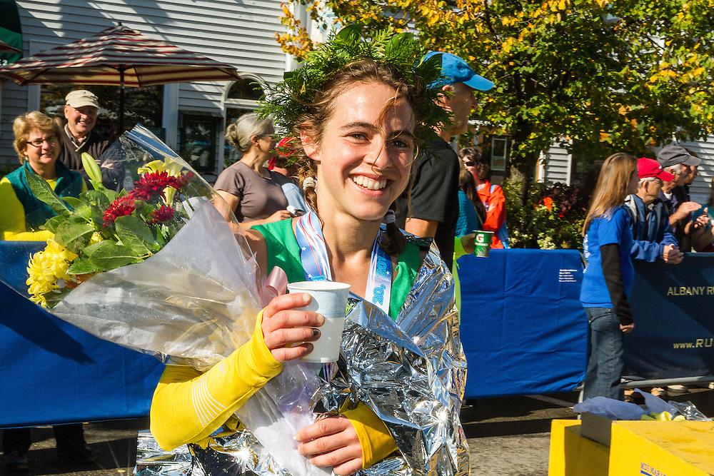 Mount Desert Island Marathon: , Leah Frost,
