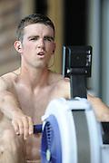 Caversham, Great Britain,  Richard CHAMBERS, training on the ergo, GB Rowing media day. GB Rowing Training centre, Caversham. Monday,  17/05/2010 [Mandatory Credit. Peter Spurrier/Intersport Images]