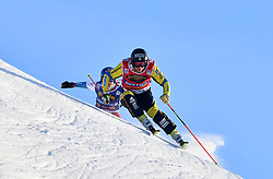 13.01.2018, Idre Fjall, Idre, SWE, FIS Weltcup Ski Cross, Idre Fjall, im Bild Sandra Näslund // during the FIS Ski Cross World Cup at the Idre Fjall in Idre, Sweden on 2018/01/13. EXPA Pictures © 2018, PhotoCredit: EXPA/ Nisse Schmidt<br /> <br /> *****ATTENTION - OUT of SWE*****