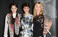 Sophie Rundle; Helen McCrory; Annabelle Wallis, Gala Screening of episode 1 of new BBC Two gangster drama 'Peaky Blinders', BFI Southbank, London UK, 21 August 2013, (Photo by Richard Goldschmidt)