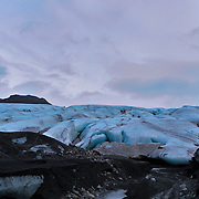Known as the land of ice & fire, Iceland is home to many glaciers and volcanoes.