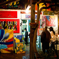 Artist's shop in Villa de Leyva.