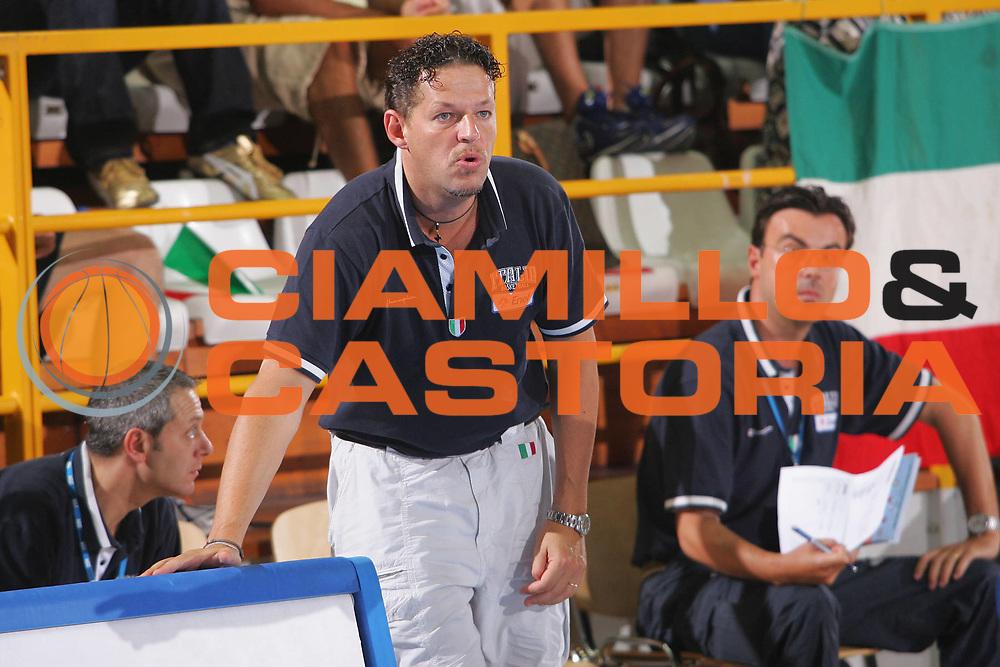 DESCRIZIONE : Gorizia U20 European Championship Men <br /> GIOCATORE : Furio Steffe <br /> SQUADRA : Italy <br /> EVENTO : Gorizia U20 European Championship Men Campionato Europeo Maschile Under 20 <br /> GARA : <br /> DATA : 14/07/2007 <br /> CATEGORIA : Ritratto <br /> SPORT : Pallacanestro <br /> AUTORE : Agenzia Ciamillo-Castoria/S.Silvestri