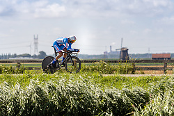 BÁRTA Jan from CZECH REPUBLIC during Men Elite Time Trial at 2019 UEC European Road Championships, Alkmaar, The Netherlands, 8 August 2019. <br /> <br /> Photo by Thomas van Bracht / PelotonPhotos.com <br /> <br /> All photos usage must carry mandatory copyright credit (Peloton Photos | Thomas van Bracht)