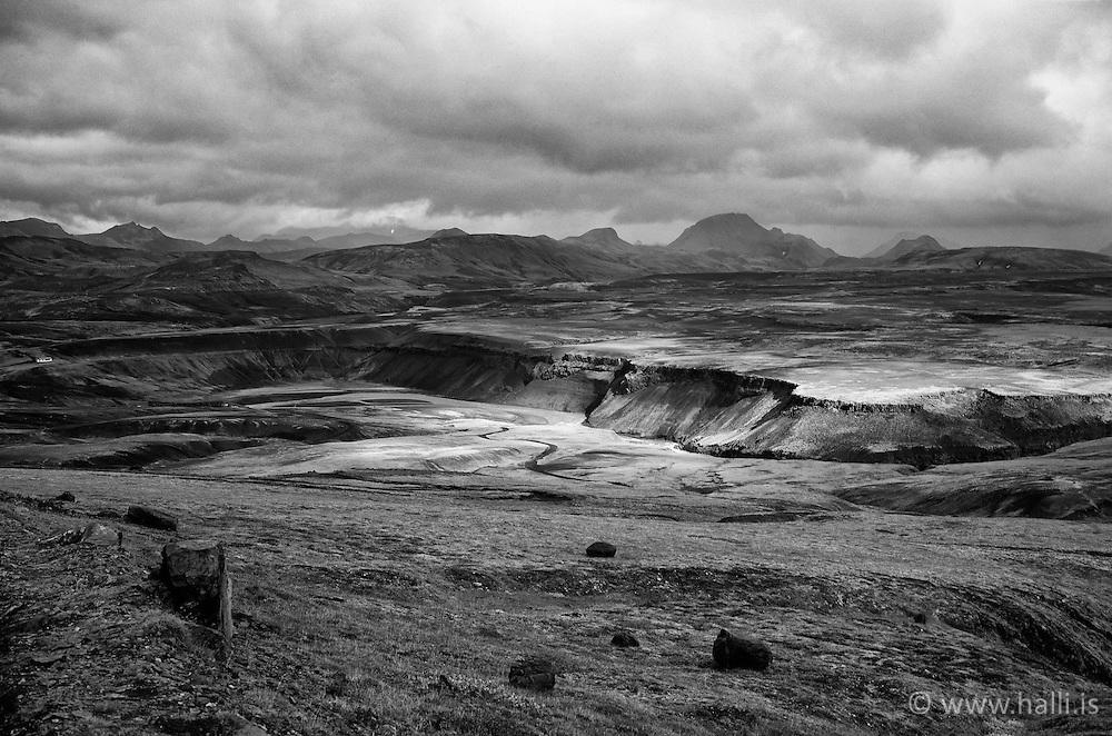Trollagja on the way to Emstrur, Iceland - Tröllagjá á Emstruleið
