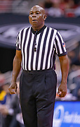 LOUISVILLE, KY - DECEMBER 15: NCAA basketball official Leslie Jones is seen during the Louisville Cardinals and Kent State Golden Flashes game at KFC YUM! Center on December 15, 2018 in Louisville, Kentucky. (Photo by Michael Hickey/Getty Images) *** Local Caption *** Leslie Jones