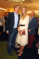 OLIVIA HUNT and PRINCE MAX ZU SALM-HORSTMAR at the launch party for the Mappin & Webb Regents Street branch at 132 Regent Street, London on 19th June 2007.<br /><br />NON EXCLUSIVE - WORLD RIGHTS