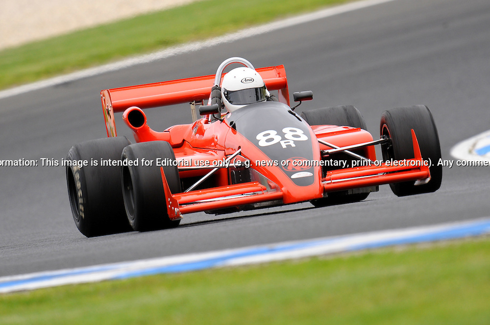 Antony Mitchell - Ralt RT 4 - Formula Atlantic.Historic Motorsport Racing - Phillip Island Classic.18th March 2011.Phillip Island Racetrack, Phillip Island, Victoria.(C) Joel Strickland Photographics.Use information: This image is intended for Editorial use only (e.g. news or commentary, print or electronic). Any commercial or promotional use requires additional clearance.